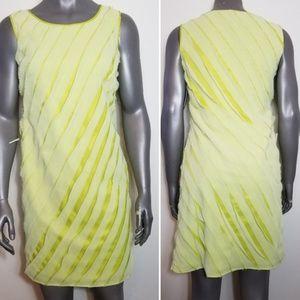 Antonio Melani Ruffled Shift Dress